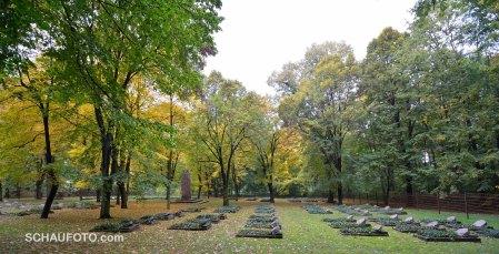 Sowjetischer Friedhof ...