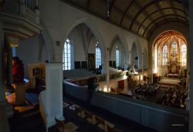 In der Marienkirche spielte die Ladegast-Orgel die Hauptrolle.