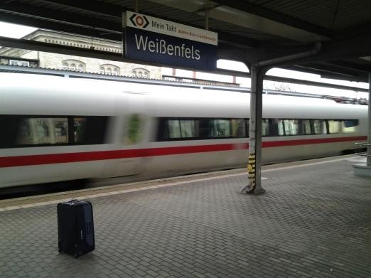 Mit diesem Zug sind wir nicht gefahren.