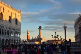 Piazetta im November-Nachmittagslicht.