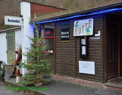 Bockmühle - auch Silvester geöffnet.