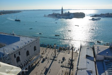 Piazetta und Isola di S. Giorgio Maggiore.