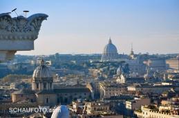 Blickrichtung Vatikanstaat