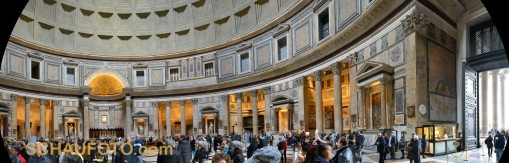 Pantheon - Handpanorama 1