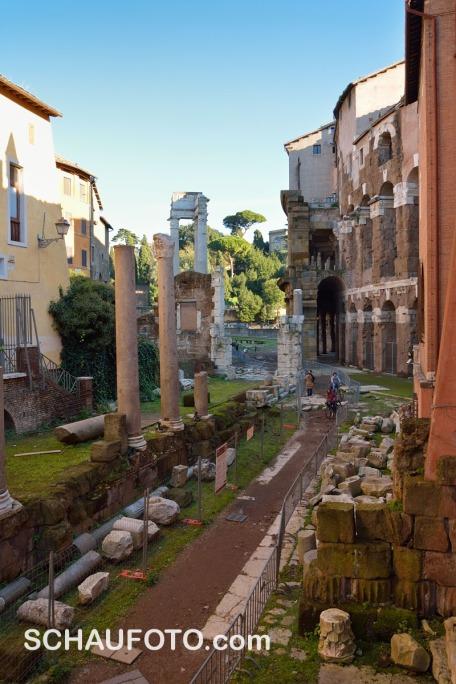 Grabe - und du findest! Jedenfalls in Rom.