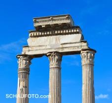 Tempel des Caesar - was übrigblieb