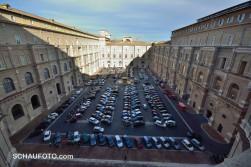 Auch hier scheint es ein Parkplatz-Problem zu geben.