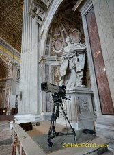 Sendungsbewusster Vatikanstaat (natürlich in HD)