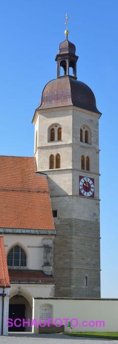 Turm der Wallfahrtskirche