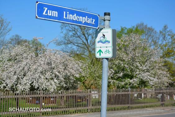 Ein Großteil unserer Tour ist ausgewiesener Radweg.