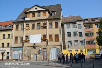 Das Hofmarschallhaus in der Nikolaistraße 39 ist das erste offizielle Objekt des Tages.