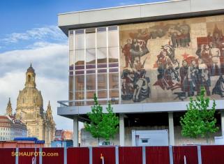 Die Dresdener arbeiten daran, auch Gegensätze im Stadtbild zu erhalten.