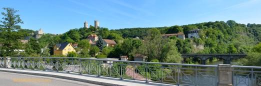 Burgenpanorama mit Weltkulturerbe-Anspruch