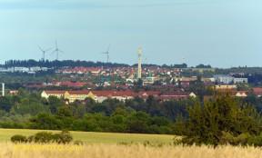 West und Süd und Stadtberg ...