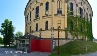 Eingang zum Dresdener Panometer