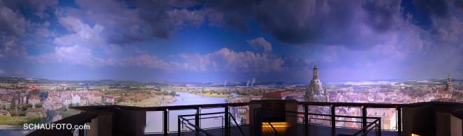Panorama vom Panorama (handgemacht)