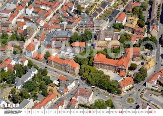 Friedrichsstraße - mit Kloster, Goethegymnasium, Amtsgericht, Novalishaus, Jägerhof ...