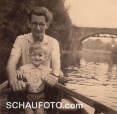 1962 - im Hintergrund ein Teil der 13-Bogen-Brücke