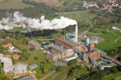 Industriestandort Deuben, im Luftbild von 2010