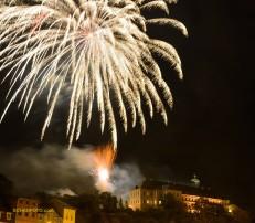 Weißenfelser Schlossfest 2014 - Abschlussfeuerwerk