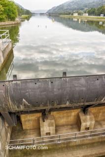 Die Altmühl bei Kelheim: Noch Fluss - oder stehendes Gewässer?