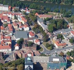 Die Promenade im Luftbild von 2004