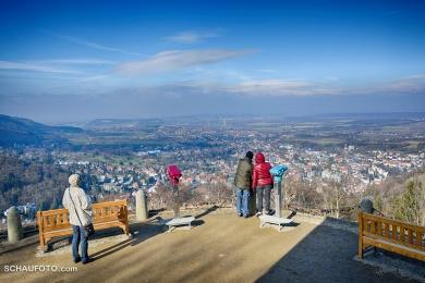 Bad Harzburg von der Harzburg gesehen