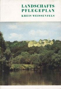 Cover Landschaftspflegeplan Kreis Weissenfels, 1989