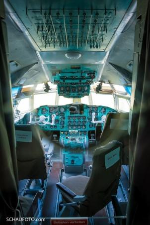 IL-62 Cockpit