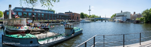 am historischen Hafen