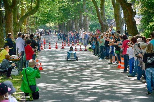 Seifenkistenrennen in der 30er Zone