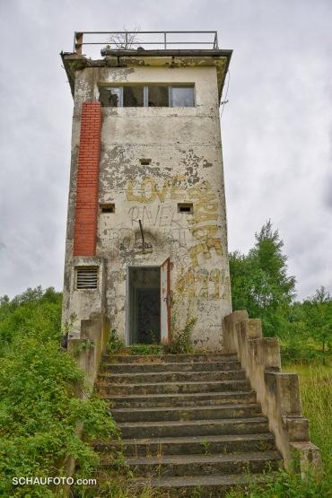 B-Turm mit Showtreppe