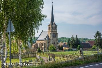 Dorfkirche Kriechau - was für ein Idyll!