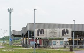 Marienborn, Eingang von der Autobahnraststätte
