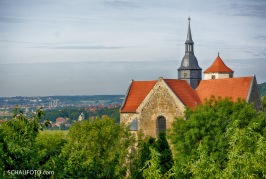 Sichtachse mit Welterbe-Anspruch: Gosecker Schloss - Eulau - Naumburger Dom