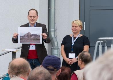 Auch Herr Kujas (Denkmalschutz Stadt Weißenfels) erinnert.