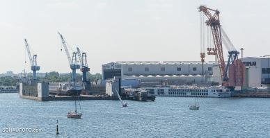 Noch ein Rückblick auf die Neptun Werft.