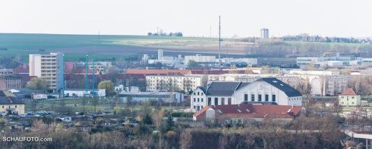 2012 - vom Bismarckturm gesehen
