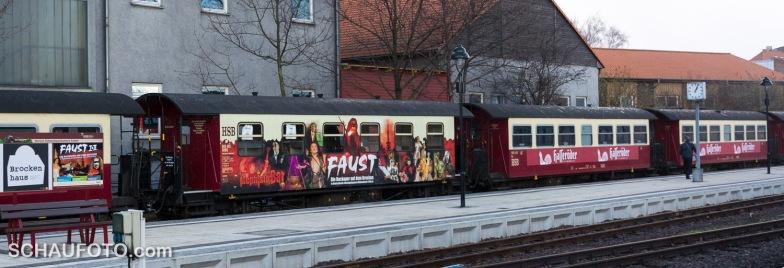 Der Zug steht bereit.