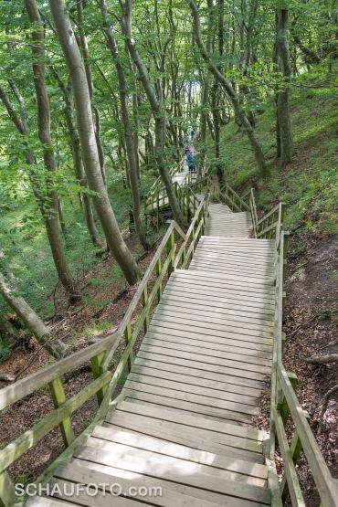 Die längste Treppe Dänemarks.