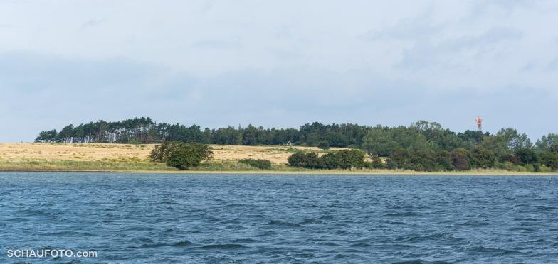 Die Insel im Rückblick.