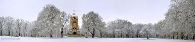Winter am Bismarckturm