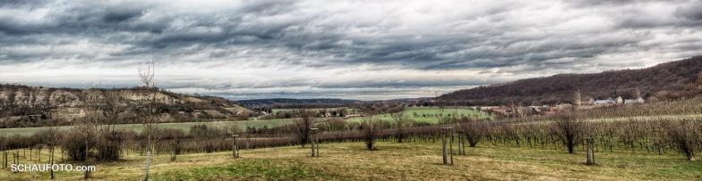 Panorama in Richtung Naumburg.