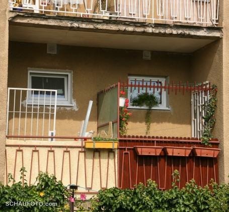 Knast-Balkon