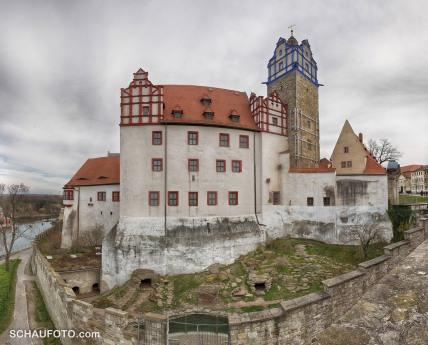 Renaissanceschloss Bernburg mit Bärenzwinger