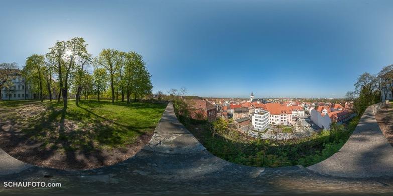 Ausblick auf Weißenfels.