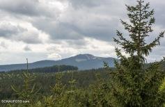 Sicht zum Wurmberg / Braunlage