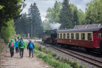am Schierker Bahnhof