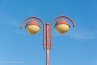 Straßenlampendetail