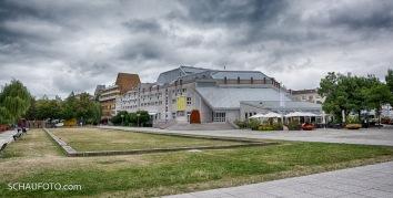 Waisenhausplatz - die Wiege der Pforzheimer Schmuckindustrie.